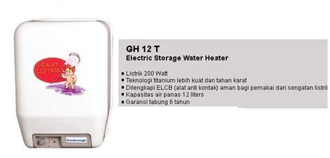 Water Heater Hemat Listrik jual water heater hemat listrik archives harga water