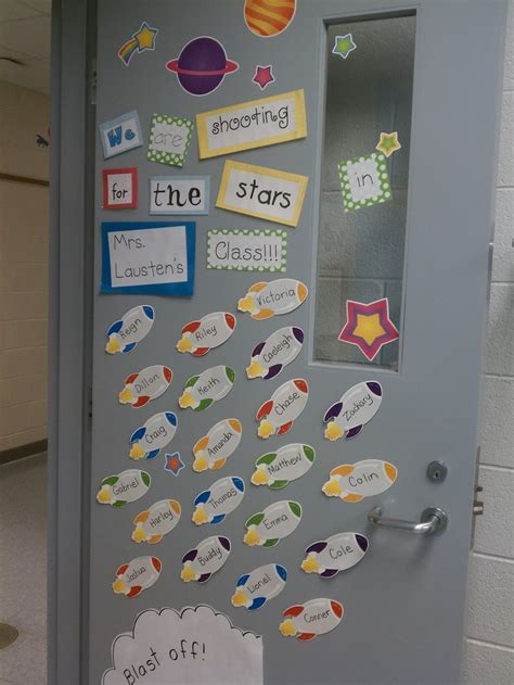 space themed door decorations 17 best images about space theme on bin