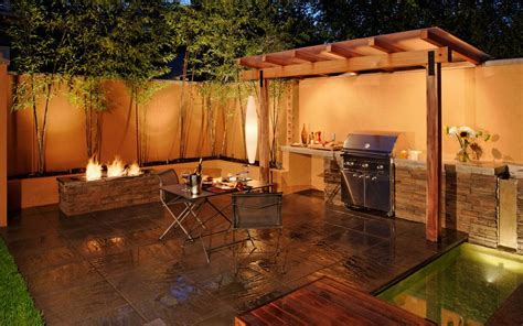 Bbq Island Lighting Ideas How You Can Use Outdoor Lighting To Highlight Your Landscape