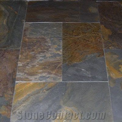 China Rust Slate Floor Tile from South Africa 7467