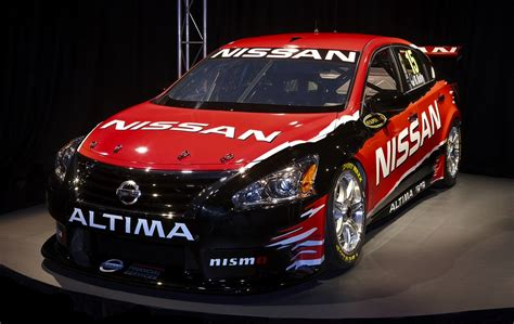 Nissan Altima V8 Supercar Unveiled Car Drives