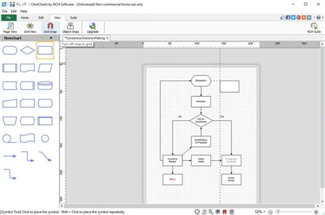 flowchart creater clickcharts diagram and flowchart maker screenshots