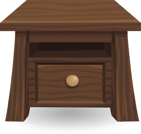 Bedside Tables Hd Pic Free Vector Graphic Table Bedside Table Wood