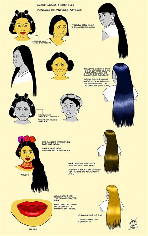 aztec hair style aztec women hairstyles by kamazotz on deviantart