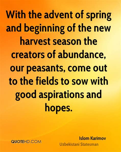 with the advent of spring and beginning of the new by