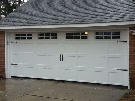 Garage Door Panel With Windows Ribbed Panel Insulated Garage Door With Windows Garage Detroit By Mammoth Door Llc