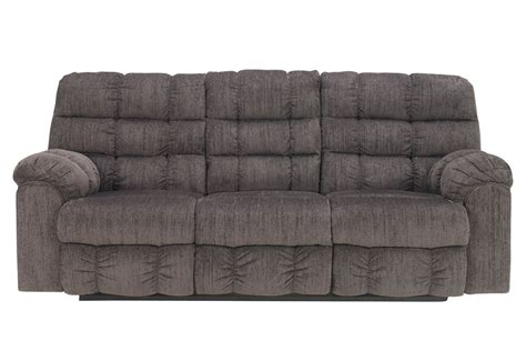 Leona Chenille Reclining Sofa With Drop Down Table At Chenille Reclining Sofa