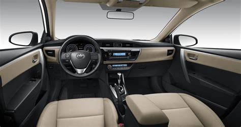 Toyota Altis 2014 Interior by