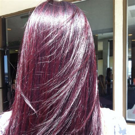 purple brown hair color purple violet brown hair dye on the hunt of light violet
