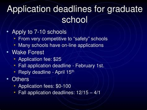 Grad School Mba Application Deadlines by Ppt Quot Being A Ph D Graduate Student Is Like Becoming
