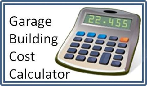 building material cost calculator garage plans free shipping and free material list 1 2 3 and 4 car