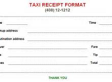 Taxi Receipt Template Doc Excel Templates Excel Templates