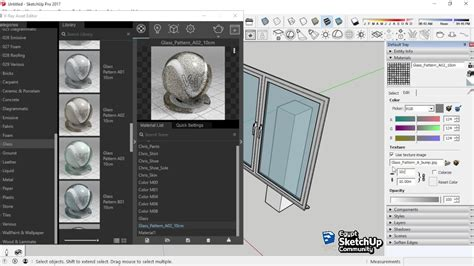Vray Sketchup Translucent Tutorial | glass transparency v ray material sketchup youtube