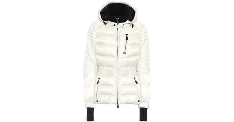 Dress Burberry 21226 lyst moncler grenoble roncevaux ski jacket in white