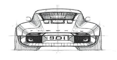porsche 901 concept interior of drive ege arguden s porsche 901 design concept