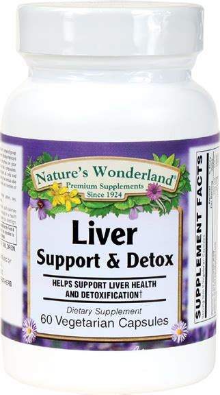 Liver Support During Detox by Liver Support Detox 60 Vegetarian Capsules Nature S