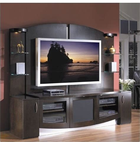 jazzy entertainment center modern display and wall