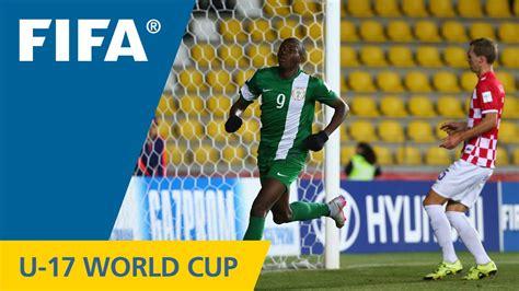 kroasia vs nigeria highlights croatia v nigeria fifa u17 world cup chile