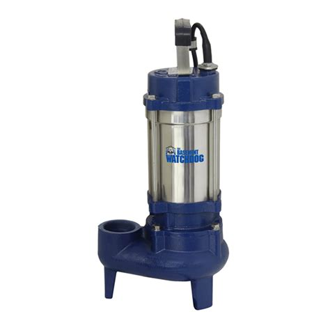 shop basement watchdog 1 hp stainless steel submersible