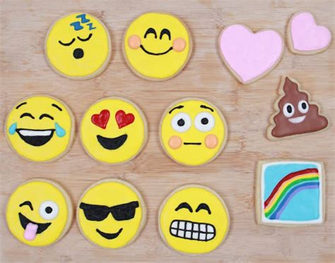cookie emoji how to make emoji cookies insert dancing ladies brit co