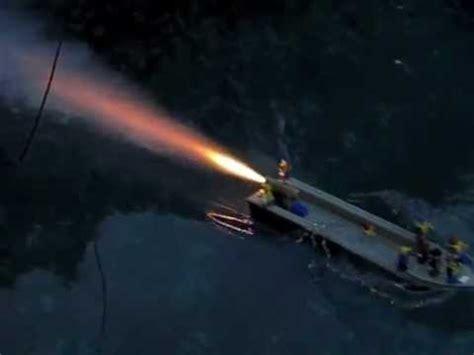 lego boat in motion lego rocket boat 2 in slow motion youtube