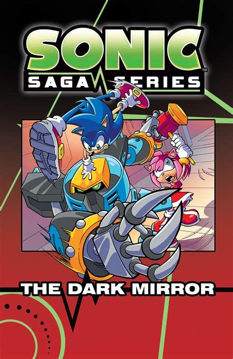 saga volume 7 look at sonic saga series vol 7 the mirror