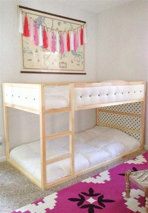 ikea kura loft bed ikea kura hack upholstered upgrade photo via ashley