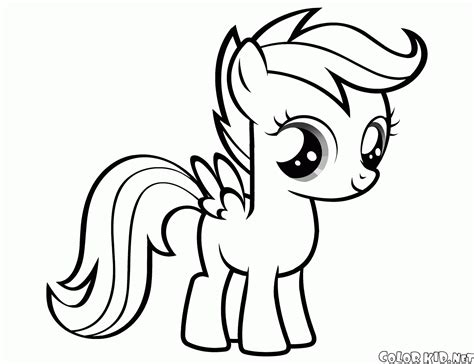 my little pony coloring pages spitfire scootaloo coloring pages coloring pages