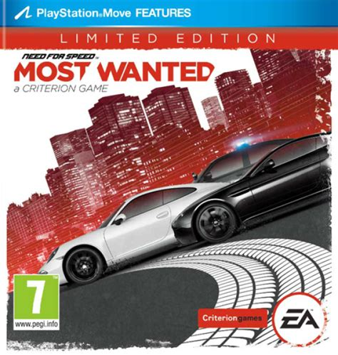 Dvd Original Playstation 3 Bluray Need For Speed need for speed most wanted limited edition ps3 zavvi