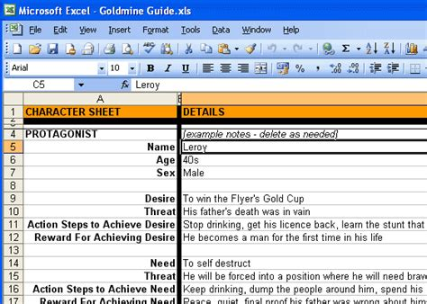 screenplay beat sheet template the beat sheet spreadsheet realizing the screenwriter s