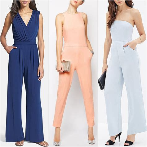 Formal Wedding Attire Jumpsuit by Best Jumpsuits To Wear To Weddings Popsugar Fashion Uk