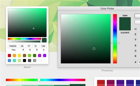 color picker chrome react color color pickers from sketch photoshop chrome