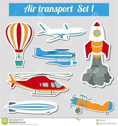 Public Transportation, Air Transportation. Icon Set. Stock Vector   Image: 54627626