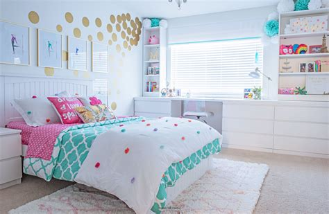 tween girls bedroom makeover reveal tidbitstwine