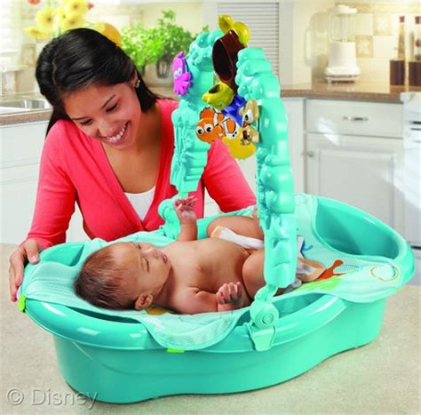 finding nemo baby bathtub the adorable cuddly disney baby collection in stores and