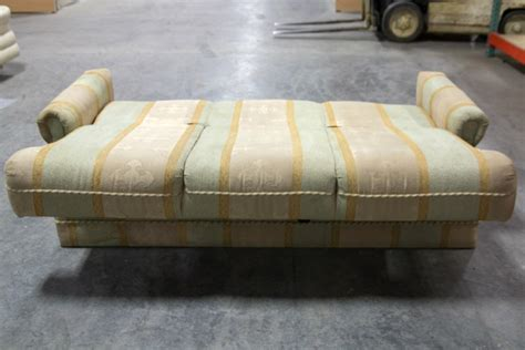 used rv sofa rv furniture used rv motorhome cer recoverable flip out