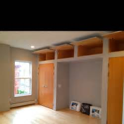 Closet Bed Frame Bedroom With Built In High Ceiling Storage And Alcove For Bed Frame Portlandrenovations Carrol