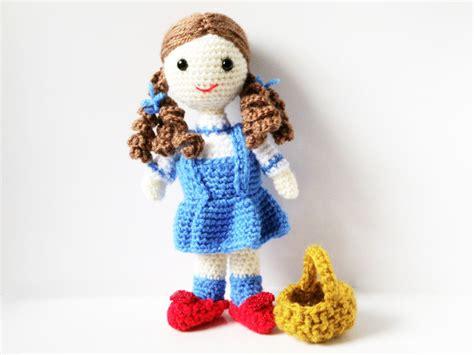 pattern crochet free doll amigurumi pattern crochet doll dorothy