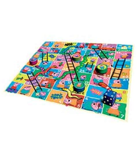 Snakes Ladders Floor Puzzle With 60 Puzzle Pieces Mainan Anak peppa pig baby gifts and toys reviews