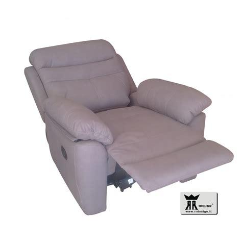 poltrona reclinabile manuale poltrona relax manuale reclinabile tessuto della linea rr