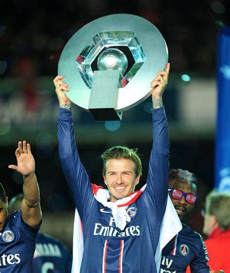 Beckhams 16 M Italian Tv Deal by David Beckham Trophy David Beckham S 40 Sporting Moments