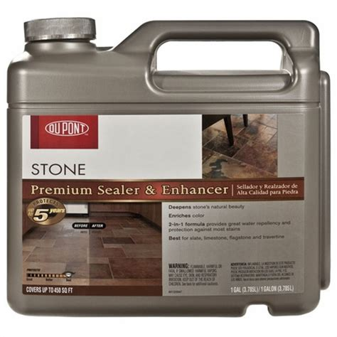dupont premium stone sealer enhancer sealer floor decor