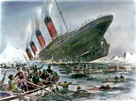 in what year did the titanic sink solving the mystery business spotlight