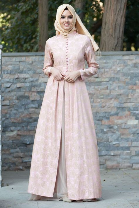 Maxi Dress Longdress 2 Ukuran Gaun Pesta Pink Berkualitas tesett 252 r 246 zel gece kiyafet muslim abayas