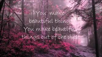 beautiful things gungor beautiful things lyrics youtube