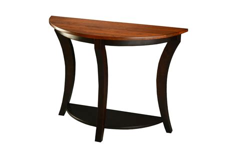 Half Moon Table Half Moon Foyer Table Craft Furniture