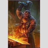 Drawn dwarf bla...