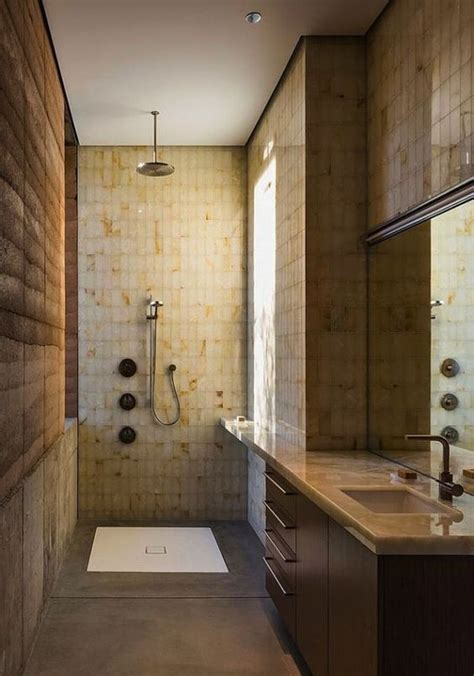 bathroom dust rammed earth home in the tucson desert by dust 11