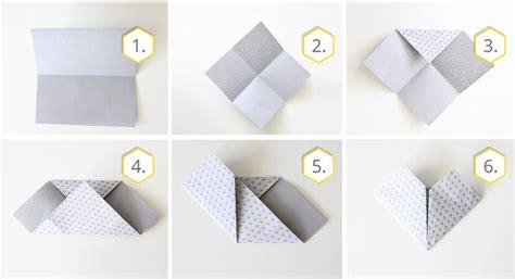 origami herz origami herz falten 187 einfache schritt f 252 r schritt