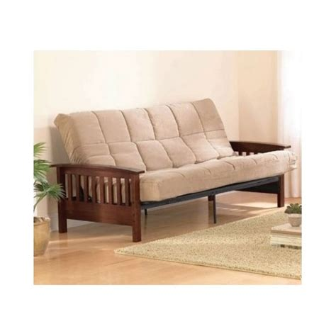full size bed futon full size futon sofa guest bed sleeper couch chaise lounge
